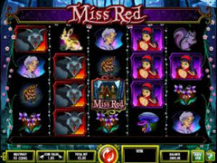 Miss Red  pokie