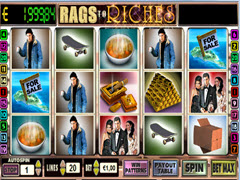 Rags to Riches - 5 Reel pokie
