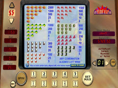 Reel in the cash paytable