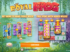 Royal Frog bonuses