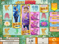 Royal Frog pokie