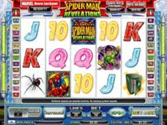 Spiderman Revelations pokie