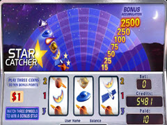 Star Catcher bonus game