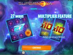 Supernova bonuses