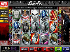 The Punisher pokie