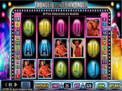Thunder Down Under pokie