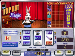 Top Hat Magic pokie
