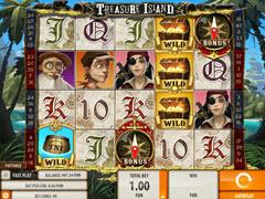 Treasure Island pokie