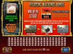 War of the Worlds bonus