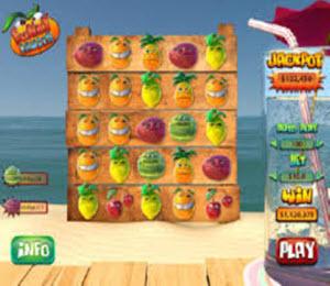 Funky Fruits pokie
