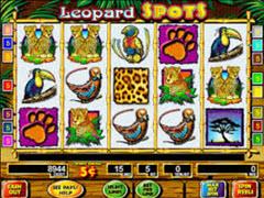 Leopard spots pokie