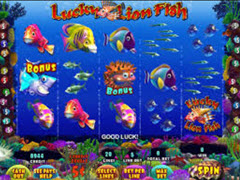 Lucky Lion Fish pokie
