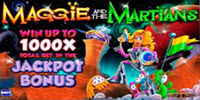 Maggie and the Martians logo