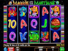 Maggie and the Martians pokie