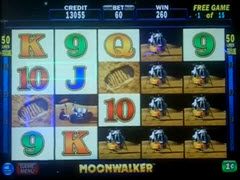 Moonwalker pokie