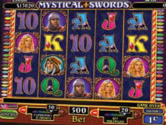 Mystical Swords pokie