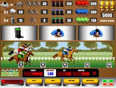 Horserace slot